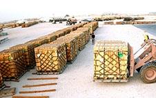 如何防止卡板厂家木箱包装的木材变色?