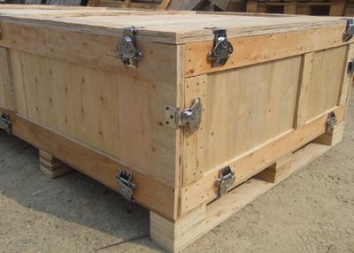 蝴蝶扣木箱
